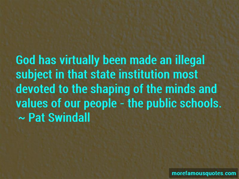 Pat Swindall Quotes