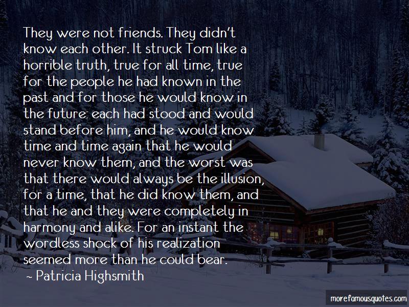 Patricia Highsmith Quotes