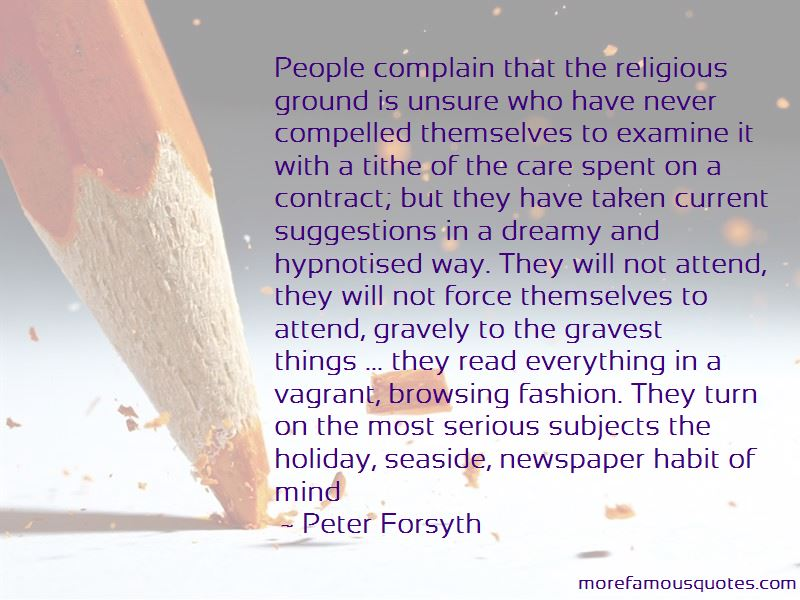 Peter Forsyth Quotes Pictures 4
