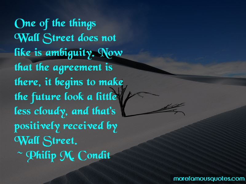 Philip M. Condit Quotes