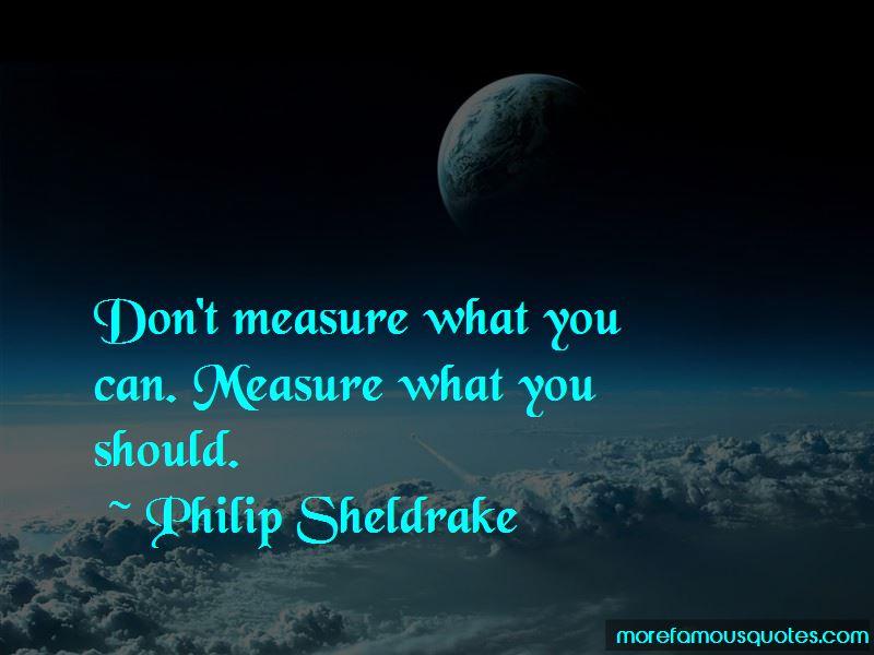Philip Sheldrake Quotes