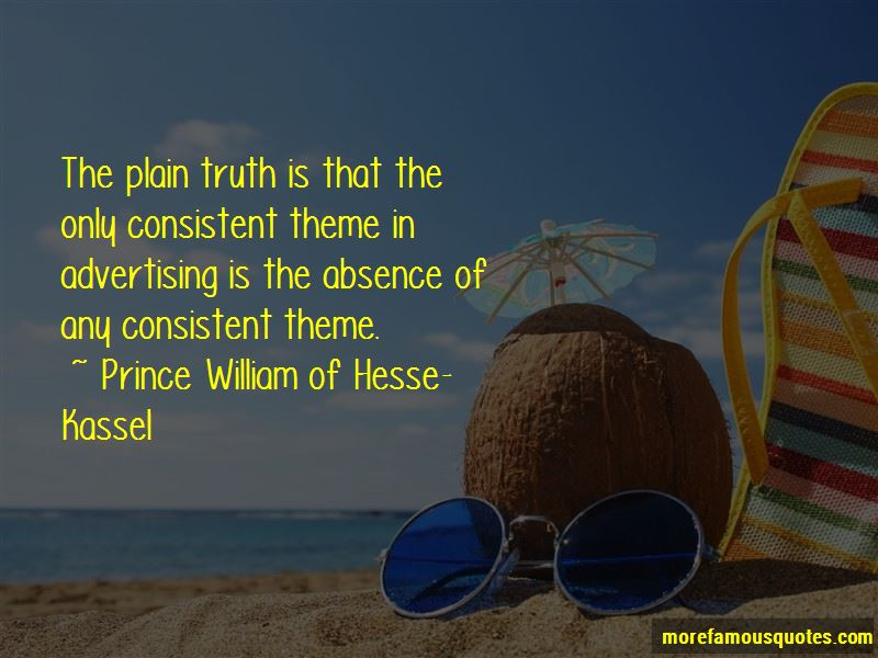 Prince William Of Hesse-Kassel Quotes