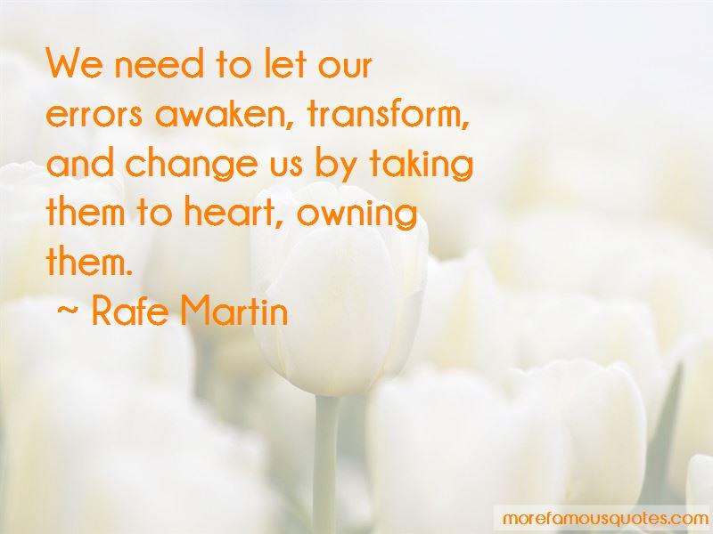 Rafe Martin Quotes