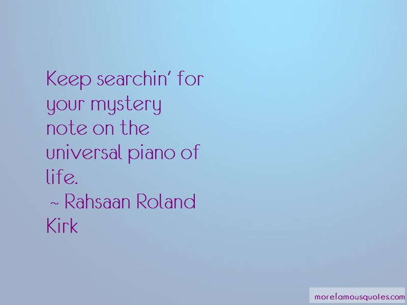 Rahsaan Roland Kirk Quotes Pictures 2