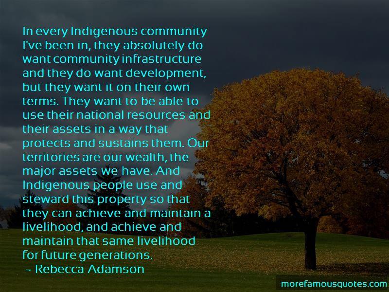 Rebecca Adamson Quotes Pictures 2