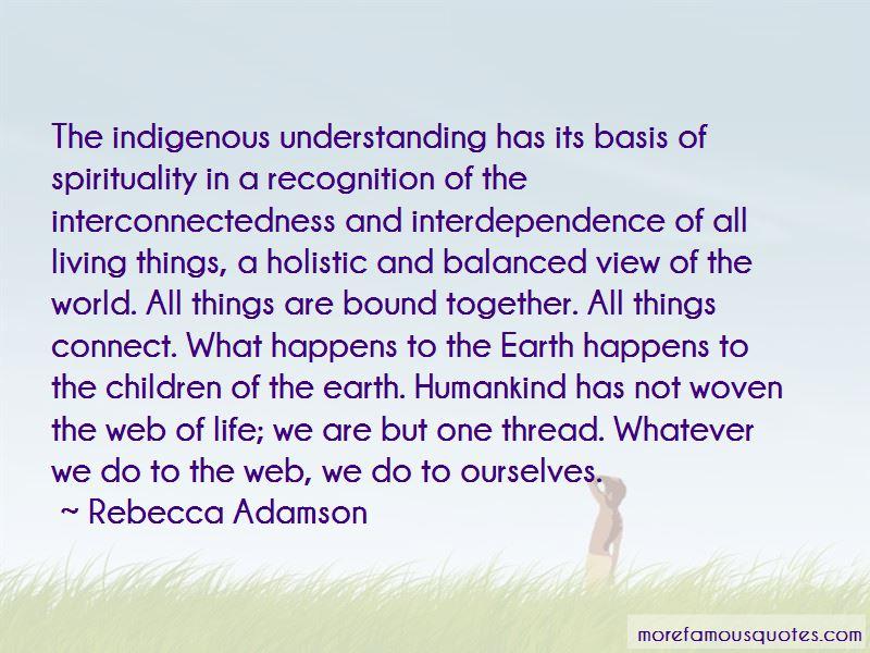 Rebecca Adamson Quotes