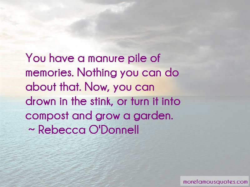 Rebecca O'Donnell Quotes