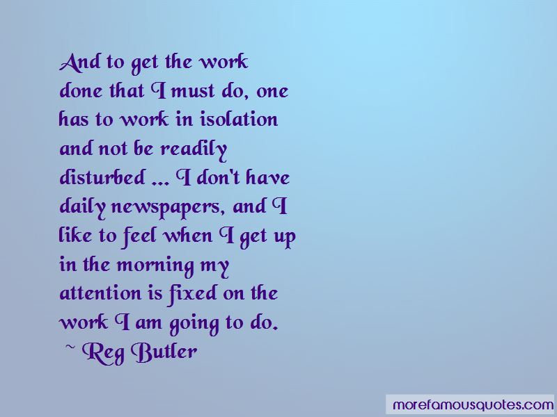 Reg Butler Quotes Pictures 2