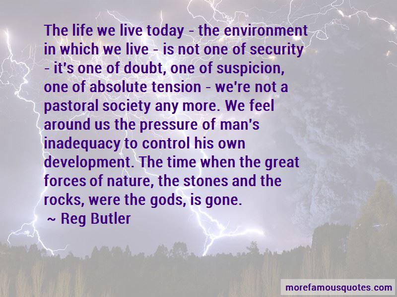 Reg Butler Quotes