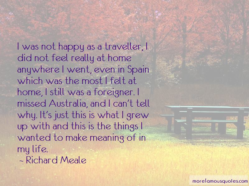 Richard Meale Quotes Pictures 3