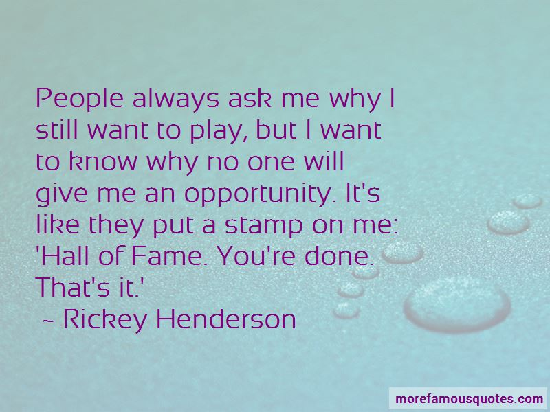 Rickey Henderson Quotes Pictures 3