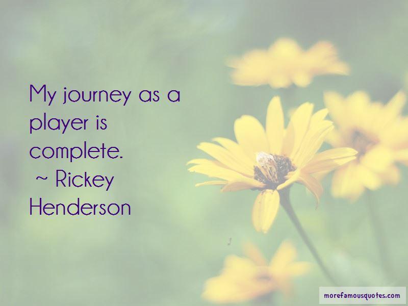 Rickey Henderson Quotes