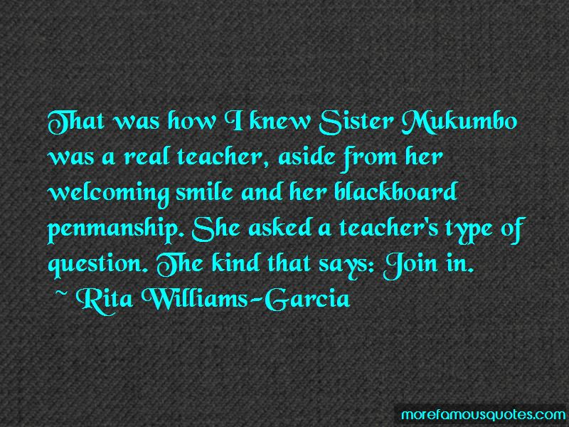 Rita Williams-Garcia Quotes Pictures 2