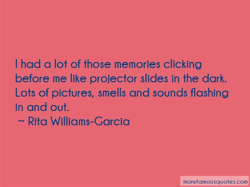 Rita Williams-Garcia Quotes
