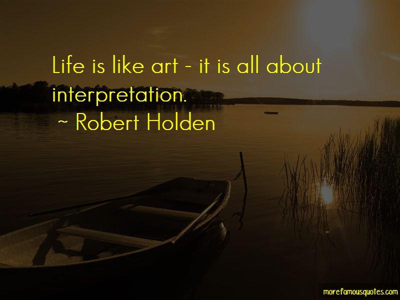 Robert Holden Quotes
