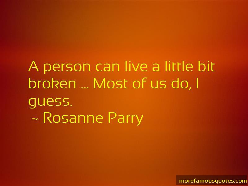 Rosanne Parry Quotes