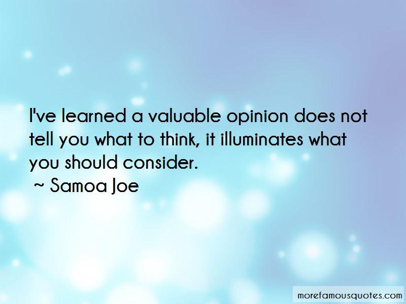 Samoa Joe Quotes