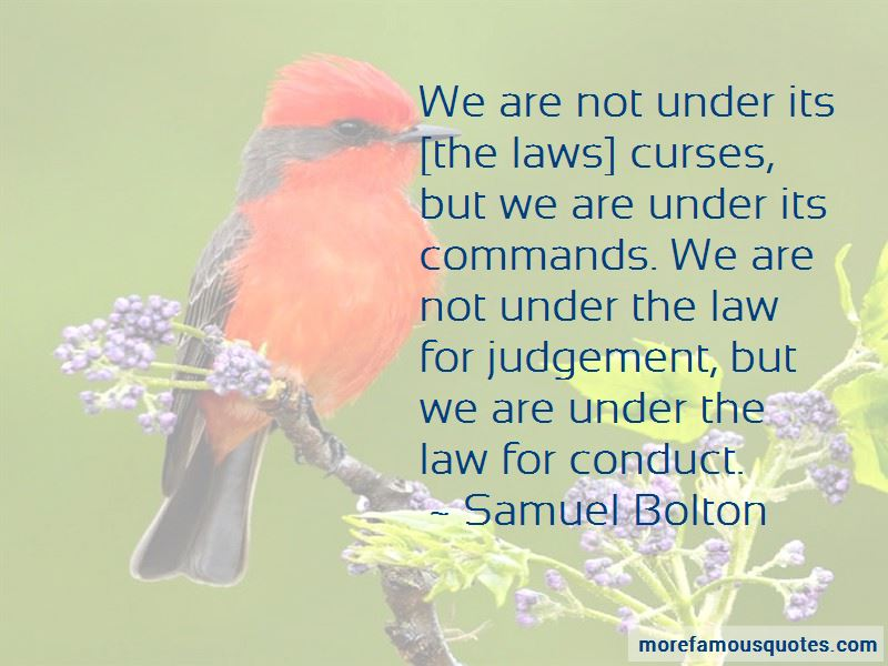 Samuel Bolton Quotes Pictures 2