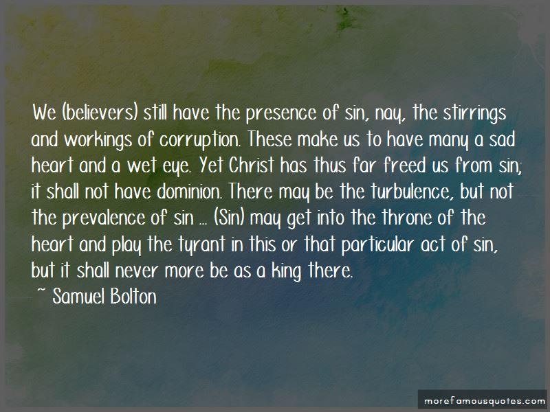 Samuel Bolton Quotes