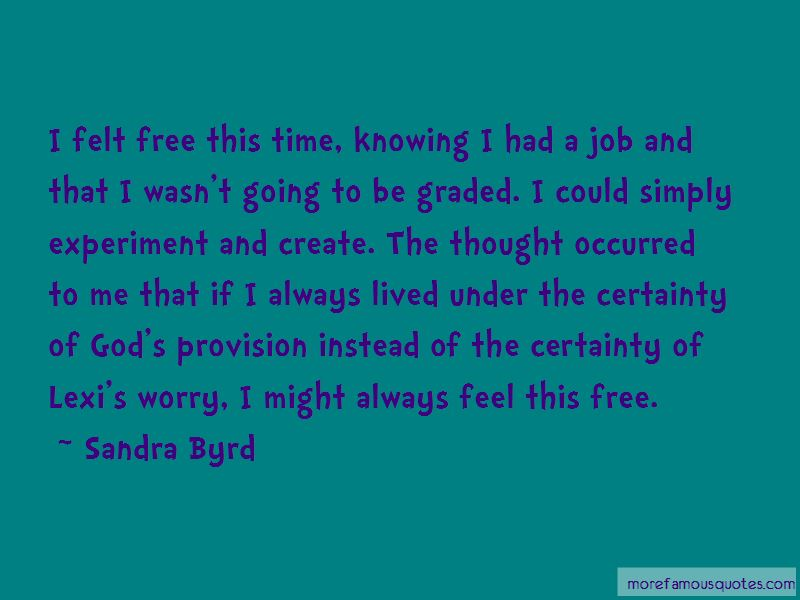 Sandra Byrd Quotes Pictures 3