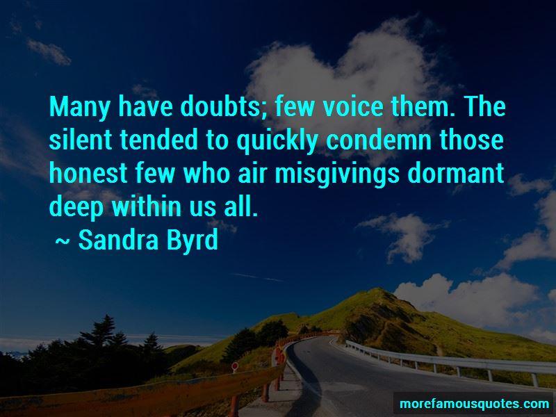 Sandra Byrd Quotes