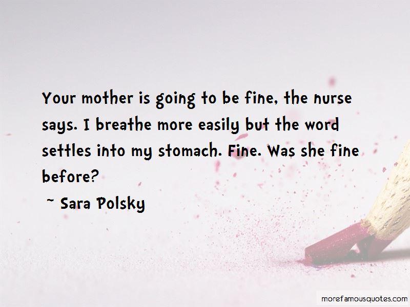 Sara Polsky Quotes