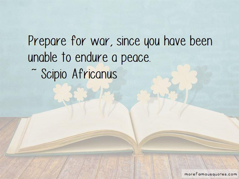 Scipio Africanus Quotes
