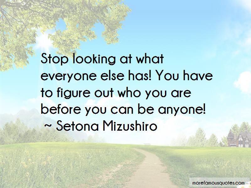 Setona Mizushiro Quotes