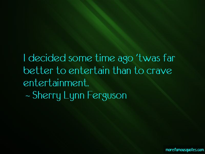 Sherry Lynn Ferguson Quotes Pictures 2