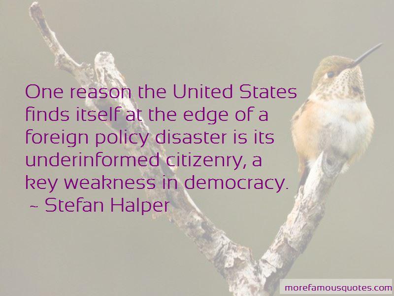 Stefan Halper Quotes Pictures 2