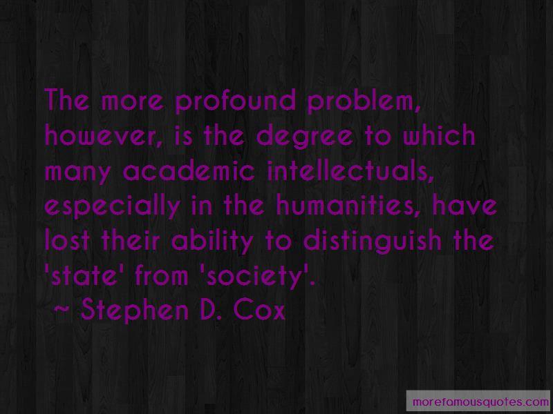 Stephen D. Cox Quotes Pictures 2