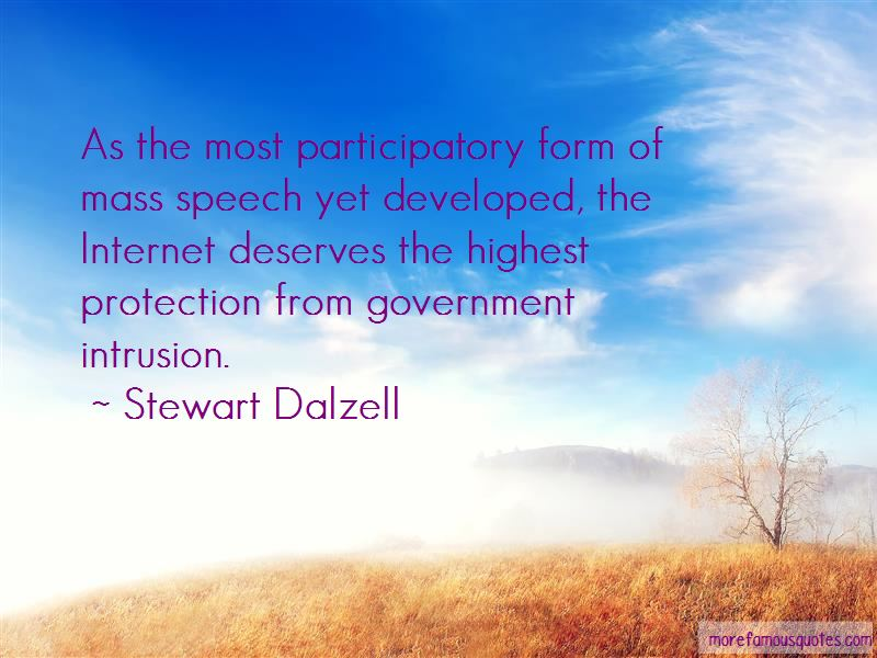 Stewart Dalzell Quotes Pictures 2