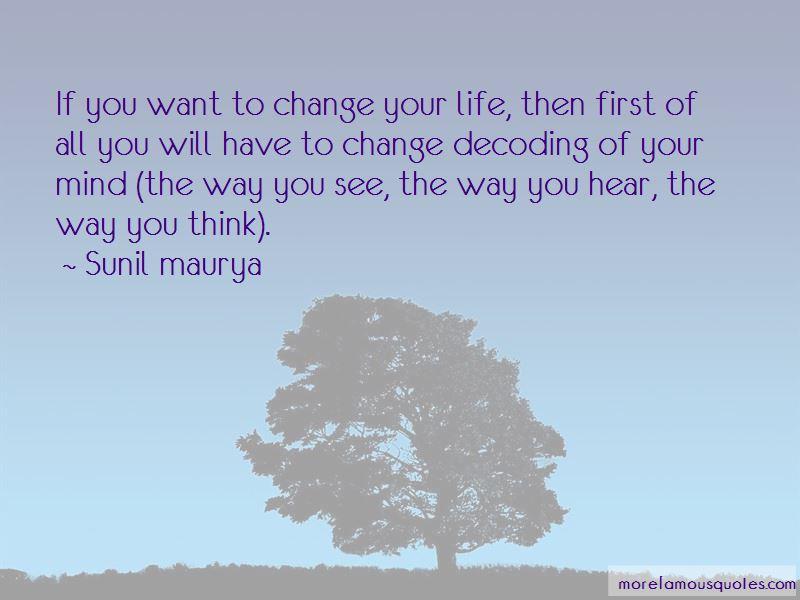 Sunil Maurya Quotes