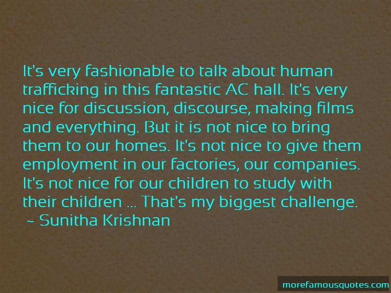 Sunitha Krishnan Quotes Pictures 2