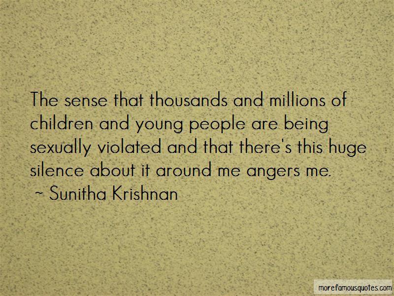 Sunitha Krishnan Quotes Pictures 3