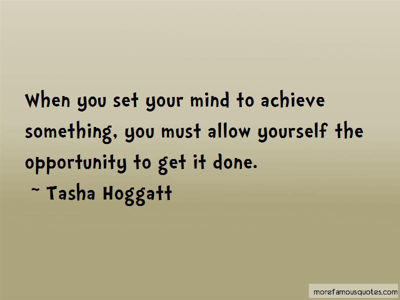 Tasha Hoggatt Quotes