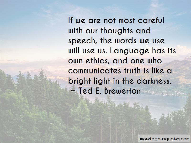 Ted E. Brewerton Quotes Pictures 2