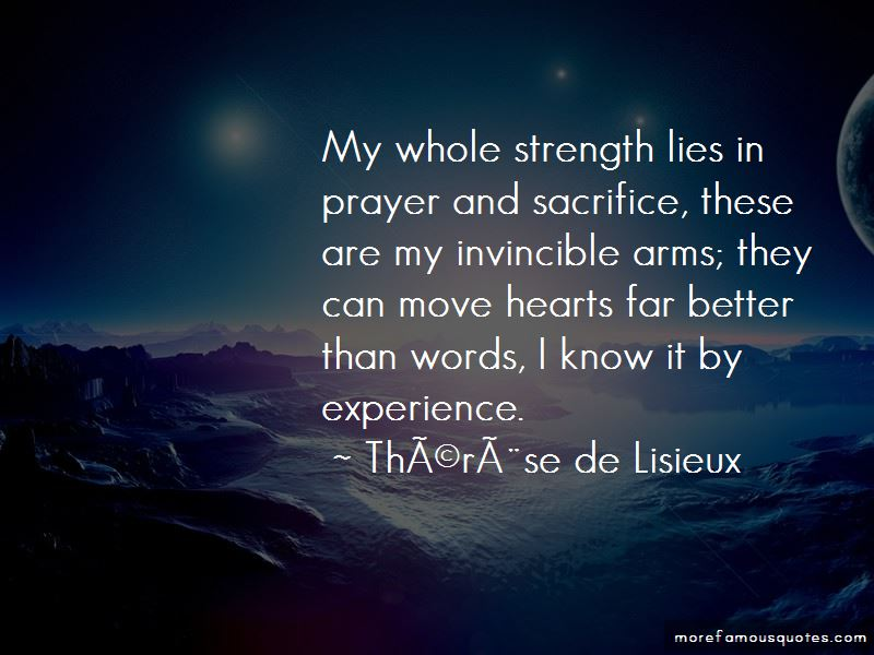 Therese De Lisieux Quotes