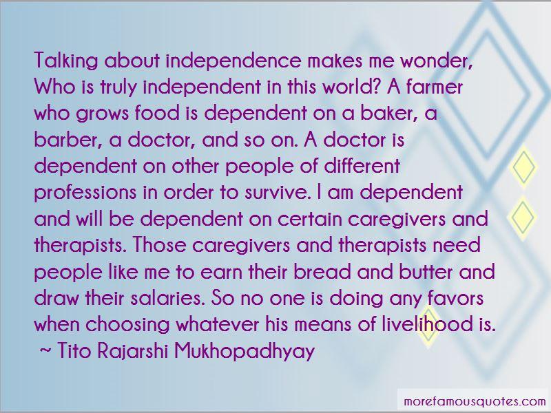 Tito Rajarshi Mukhopadhyay Quotes
