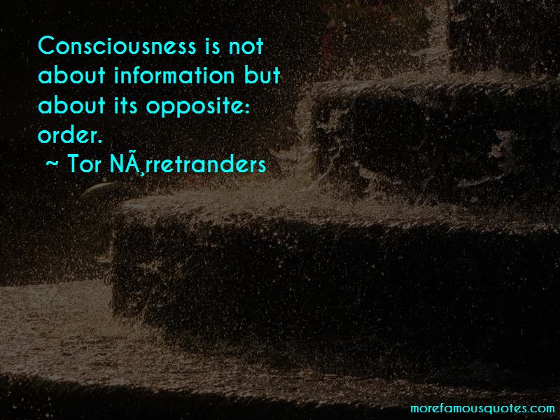 Tor Nørretranders Quotes Pictures 2