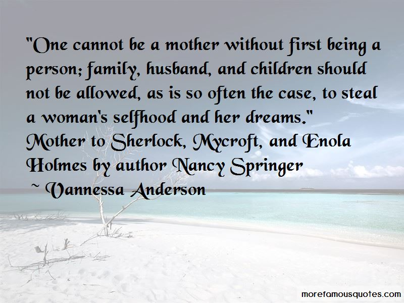Vannessa Anderson Quotes