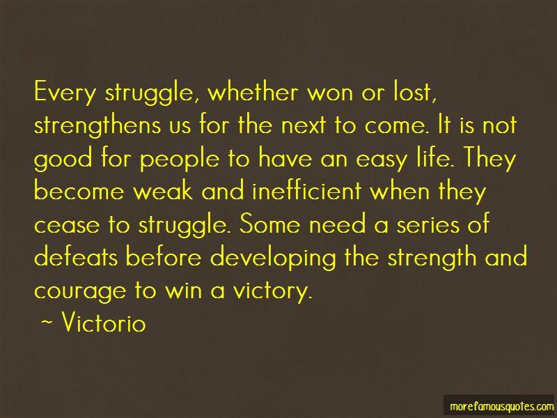 Victorio Quotes