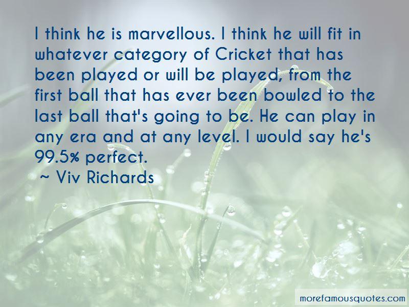 Viv Richards Quotes Pictures 3