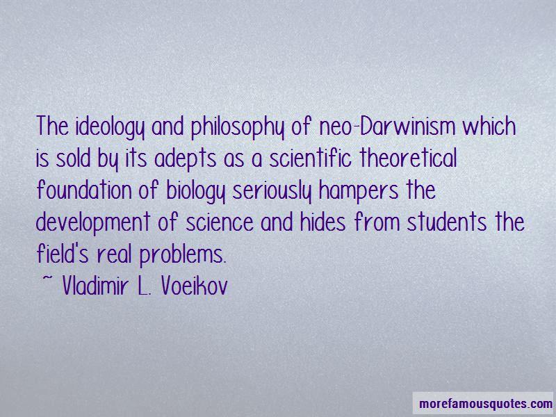 Vladimir L. Voeikov Quotes