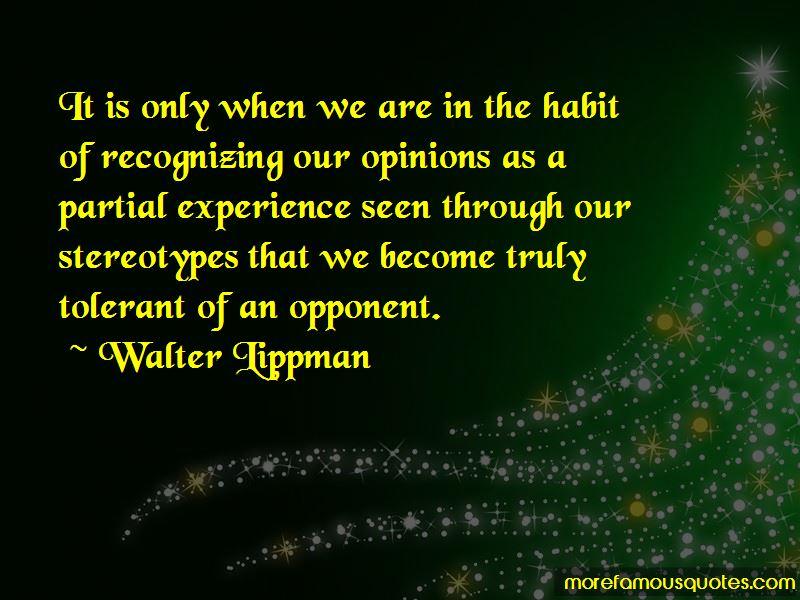 Walter Lippman Quotes