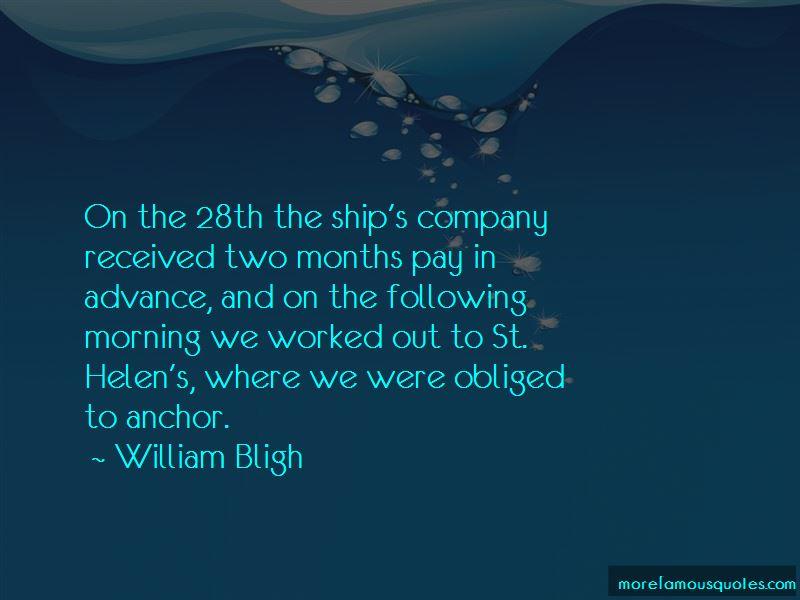 William Bligh Quotes Pictures 2