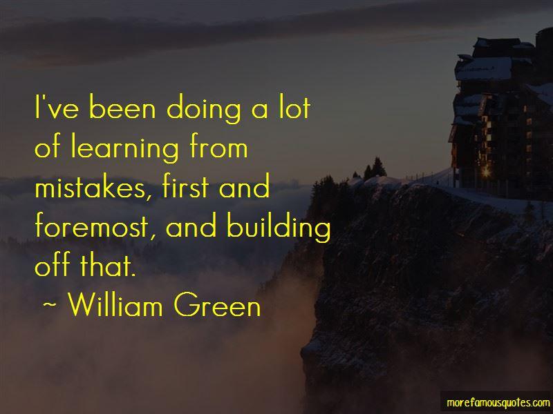 William Green Quotes Pictures 2