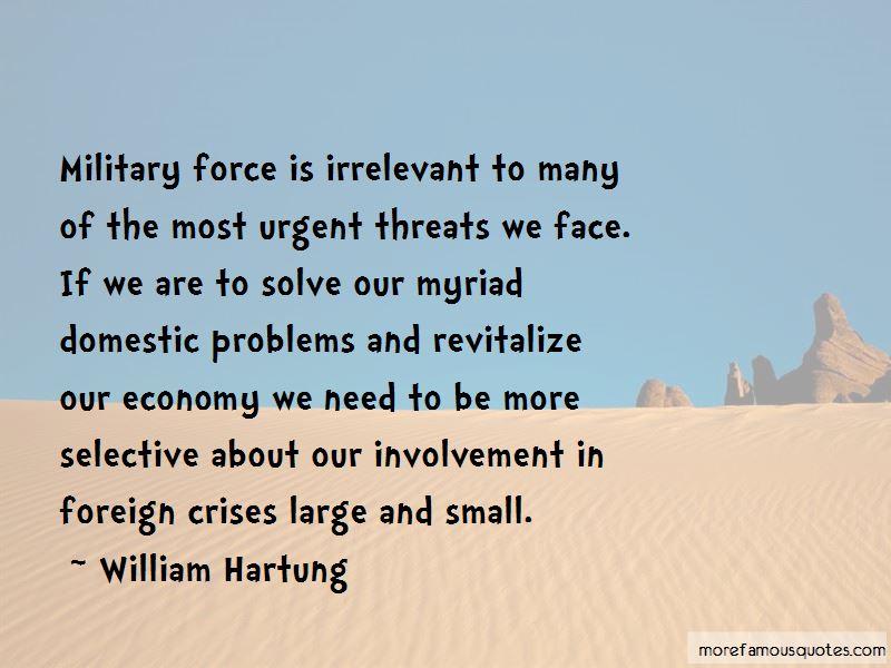 William Hartung Quotes