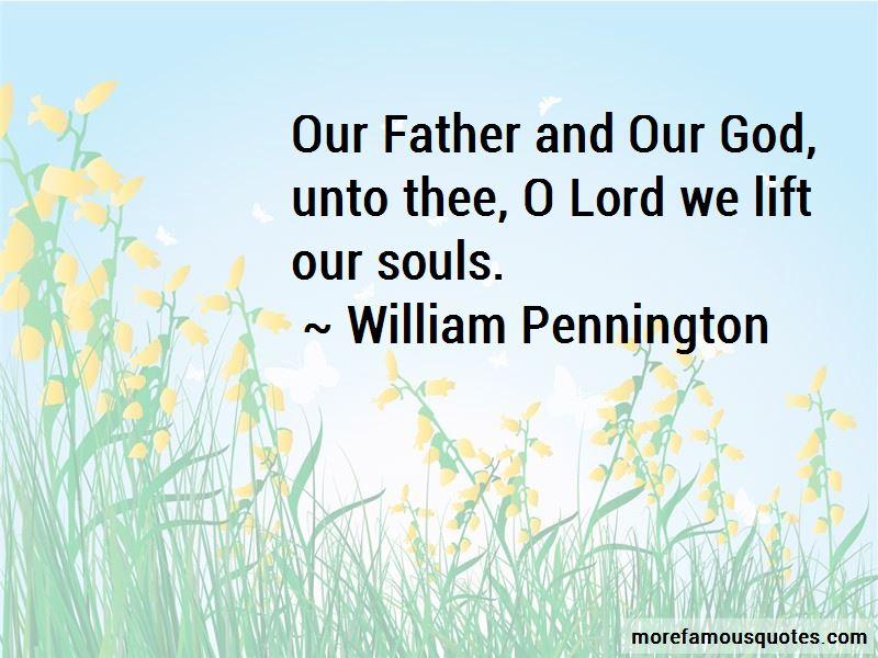 William Pennington Quotes