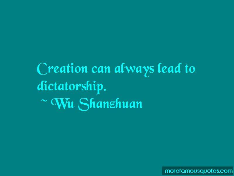 Wu Shanzhuan Quotes